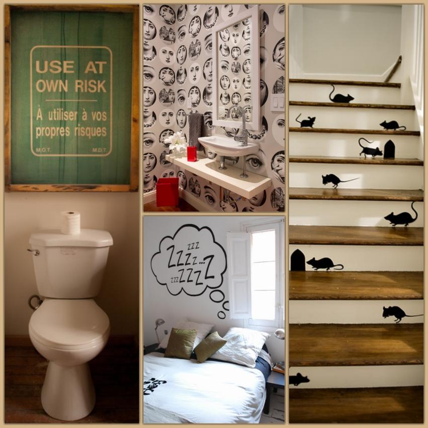 Idee decorare pareti tecnica decoupage idee per il - Idee per decorare pareti ...