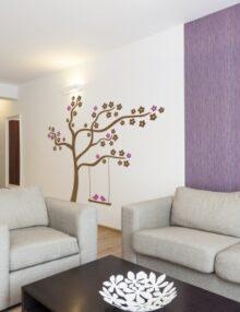 Adesivi murali con alberi stickers murali - Adesivo albero ikea ...