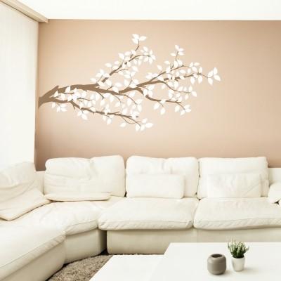 Adesivo murale albero estivo stickers murali - Adesivo albero ikea ...
