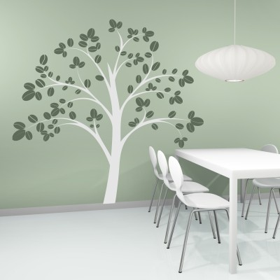 Adesivo murale albero incantato stickers murali - Adesivo albero ikea ...