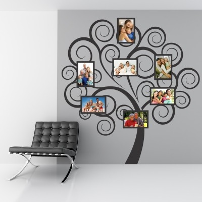Adesivo murale albero portafoto stickers murali - Albero su parete ...