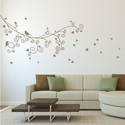 Adesivi murali per la tua camera da letto stickers murali for Foto murali 3d
