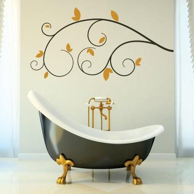 Adesivi murali per decorare specchi e vetri nel tuo bagno - Adesivi murali per bagno ...