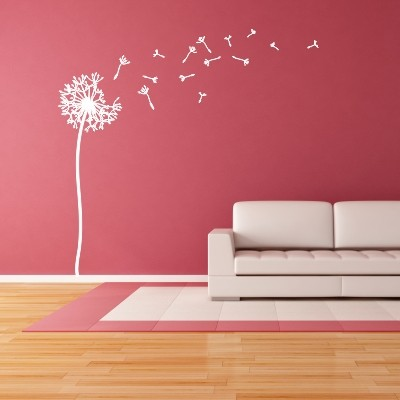 Adesivo murale soffioni e vento stickers murali - Stickers da parete personalizzati ...