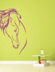 adesivo murale animale cavallo