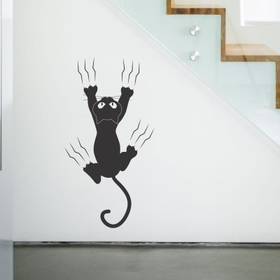 10099 Adesivo Murale Gatti Gattini Famiglia Gatto Da Adesivo da Muro Animali