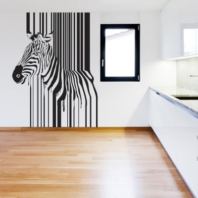 Stickers Murali Design.Design Unico Con I Wall Stickers Con La Zebra Stickers Murali