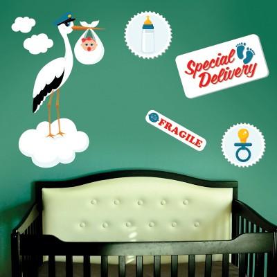 spesso Idee per Decorare la Cameretta dei Neonati   Stickers Murali BH16