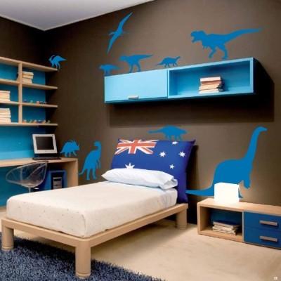 Adesivo murale dinosauri stickers murali - Adesivi camera bimbi ...