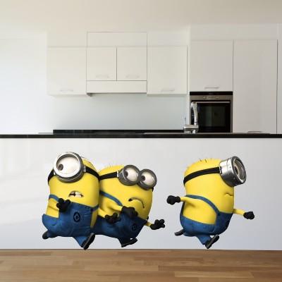 Adesivi murali con i minions i migliori del web - Vi si confezionano tappeti da appendere al muro ...