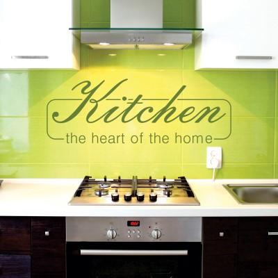 Beautiful scritte per cucina pictures ideas design for Stickers murali cucina
