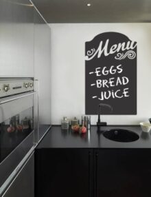 Adesivo murale t party stickers murali for Stickers lavagna cucina
