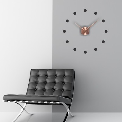 Adesivo murale orologio minimal stickers murali for Orologio stickers