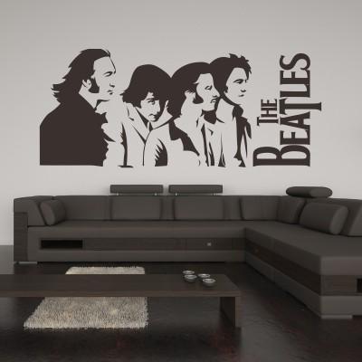 Adesivi Murali Personaggi Famosi.Adesivo Murale The Beatles Stickers Murali