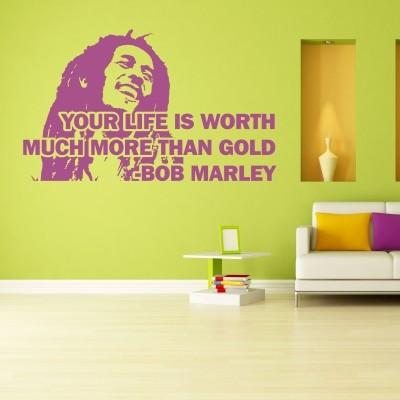 Adesivi Murali Bob Marley.Adesivo Murale Bob Marley Life Stickers Murali