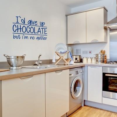 Adesivo murale chocolate stickers murali - Adesivi per cucina ...