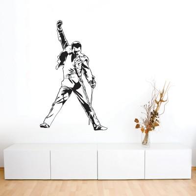 Adesivi Murali Personaggi Famosi.Adesivo Murale Freddie Mercury Stickers Murali