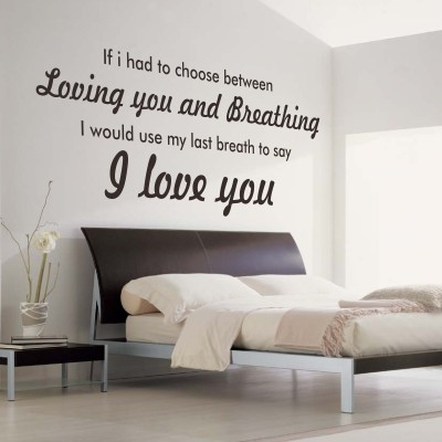 Adesivo Murale I Love You - Stickers Murali