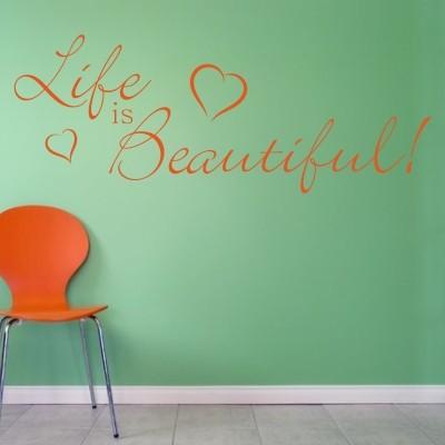 Top 20 scritte adesive per pareti stickers murali for Bordure adesive per pareti