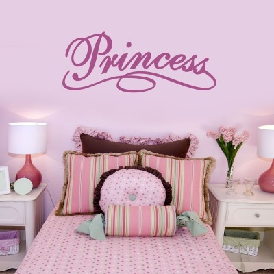 Adesivo murale principessa stickers murali - Pareti camera bambini ...
