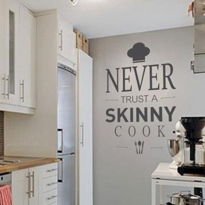 3 Scritte Famose per le Pareti della Cucina | Stickers Murali