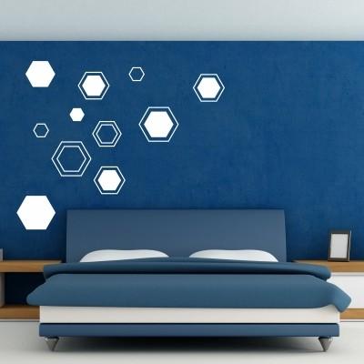 Adesivi murali con le forme geometriche stickers murali for Disegni geometrici per pareti