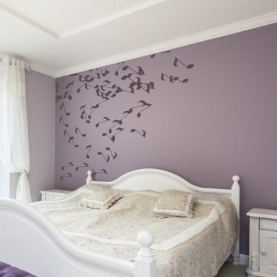 Adesivi murali originali per ogni stanza stickers murali - Disegni parete camera da letto ...