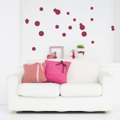 Adesivi murali con le forme geometriche stickers murali - Specchio adesivo per anta armadio ...
