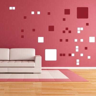 Decorare il soggiorno con gli adesivi murali stickers murali - Decorare pareti con pittura ...