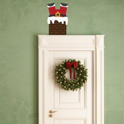 Decorazioni murali natalizie per ogni stanza stickers murali - Adesivi natalizi per finestre ...