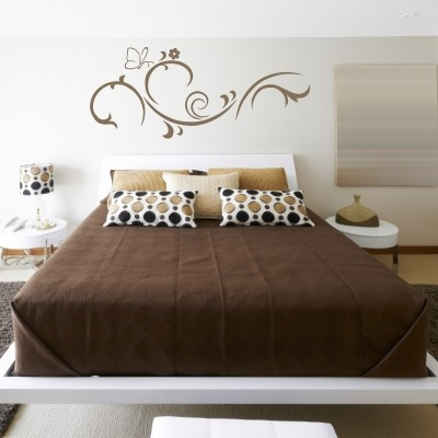 Adesivo murale farfalla stickers murali - Disegni parete camera da letto ...