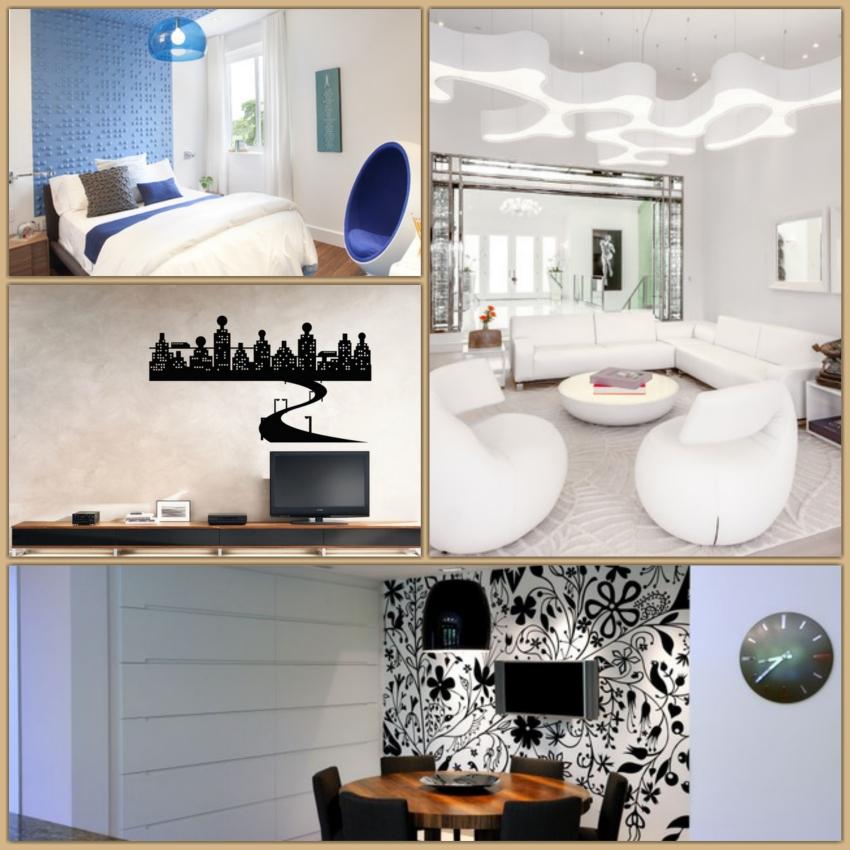 100 idee di decorazioni murali la guida definitiva - Decorazioni per muri di casa ...