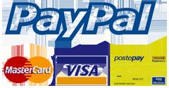postepay paypal visa mastercard